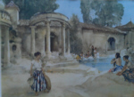 sir william russell flint an awkward encounter signed limited edition print