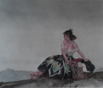 sir william russell flint Carmelita signed limited edition print