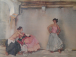 sir william russell flint casilda's white petticoat signed limited edition print