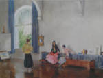 sir william russell flint conversation piece signed limited edition print
