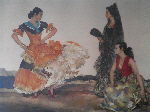 sir william russell flint dance of a thousand flounces signed limited edition print