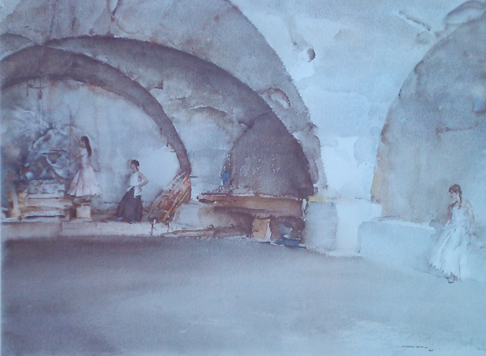 sir william russell flint dubious bernini signed limited edition print
