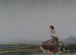 sir william russell flint Esperanza signed limited edition print