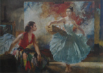 sir william russell flint eve and yasmin signed limited edition print