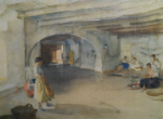 sir william russell flint Festal Preparations Manosque signed limited edition print