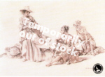 sir william russell flint Group of Idlers signed limited edition print