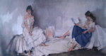sir william russell flint Interlude signed limited edition print