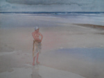 russell flint lydia on the sands