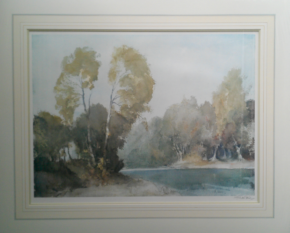 russell flint october morning on the baise print