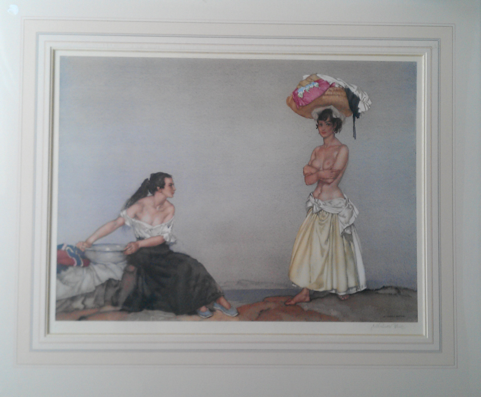 russell flint rosa and marissa print