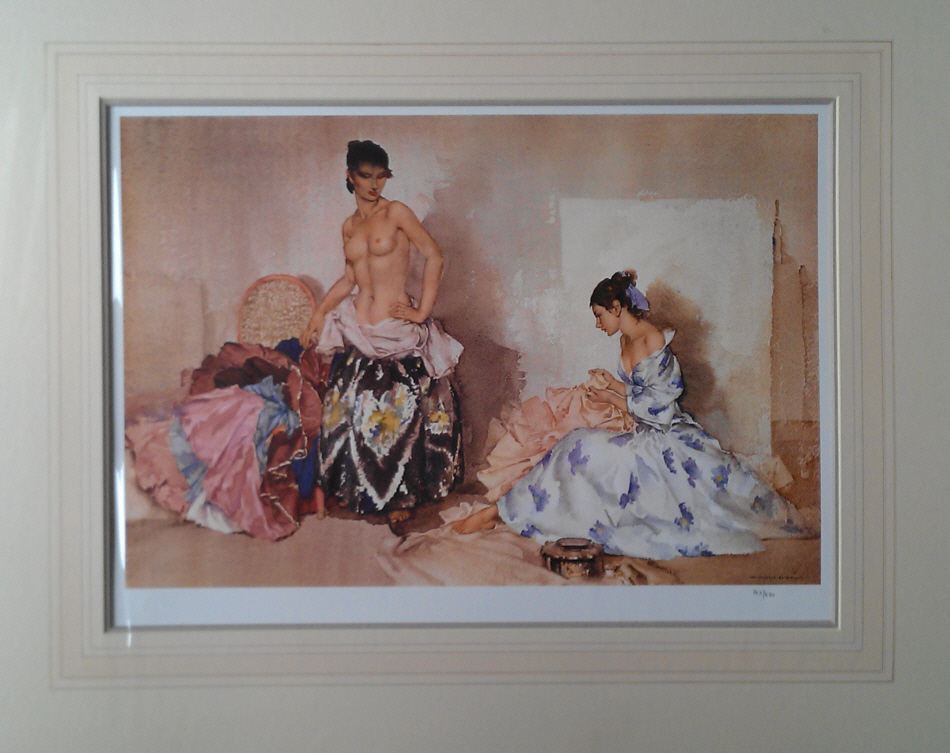 russell flint france, studio accessories