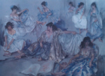 sir william russell flint Variations IV signed limited edition print