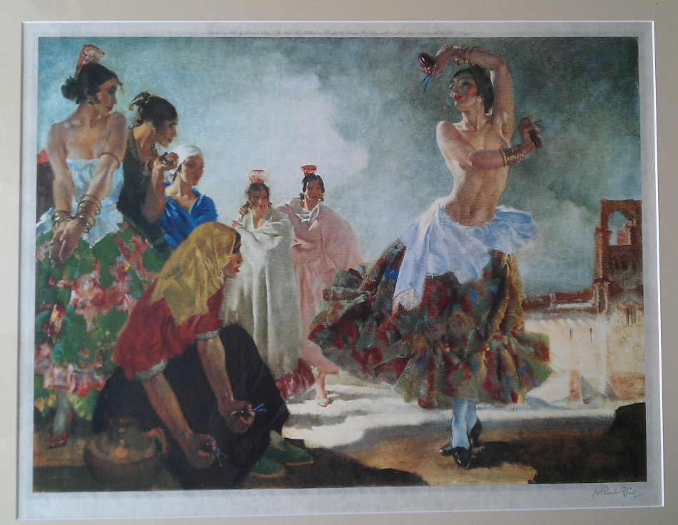 Sir William Russell Flint R.A., P.P. R. W. S: 1880-1969 by Ralph  Lewis