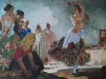 sir william russell flint Zoronga signed limited edition print